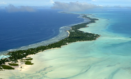The Pacific islands are drowning, we need the worlds help