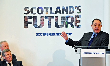 A report from the Scottish government suggested Scots would be £1,000 a year better with independenc