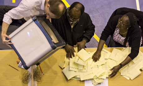 Local Election Count In Croydon
