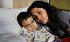 Ashya King with his mother, Naghe