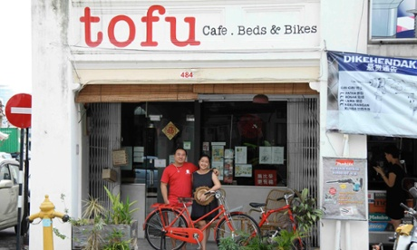 Tofu Cafe Beds Bikes, Penang