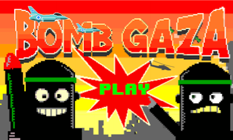 Google customers have reacted with outrage to an Android game that invites players to mimic the Israeli army 'dropping bombs' on Gaza. By Hannah Jane Parkinson