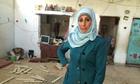 Hanan al-Qaq in her home in Rafah