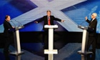Alex Salmond debates Alistair Darling.