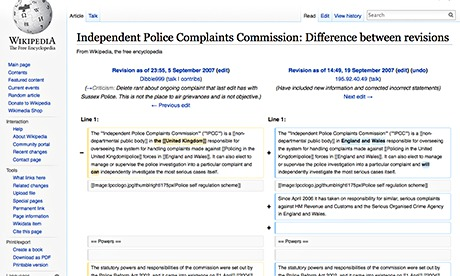 Wikipedia edits made by government sought to minimise high-profile killings