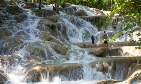 Jamaica, St. Ann Pa, Ocho Rios, Dunns River Falls