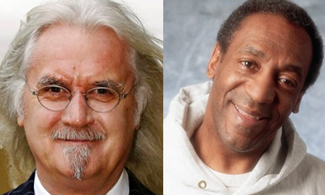 Billy Connolly and Bill Cosby