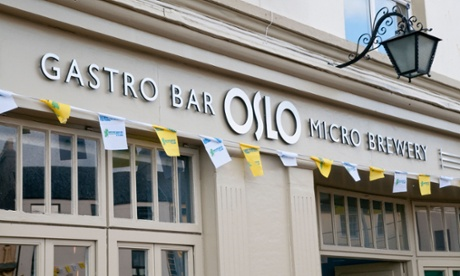 Oslo microbrewery and bar in Salthill, Galway.
