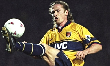 Emmanuel Petit in action against West Ham in 1998