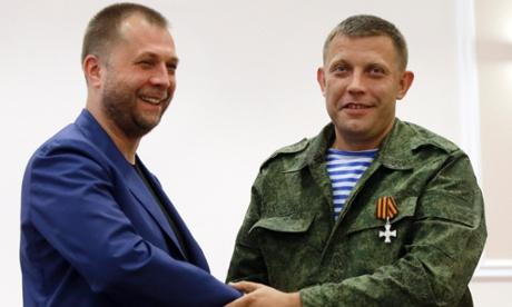 Русский уходит в отставку, чтобы освободить дорогу для украинца как нового главы 'Донецкой Народной республики'