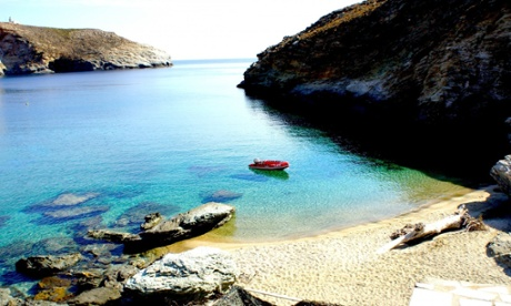'Perfect' Ahla beach near Onar houses