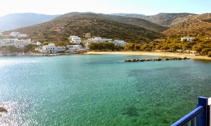 Sea views from Lucas Studios