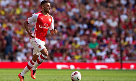 The Arsenal winger Alex Oxlade-Chamberlain has returned from a disappointing summer of injury