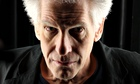 David Cronenberg, close up