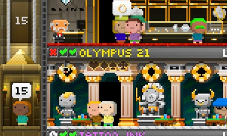 Tiny Tower Vegas for Android.