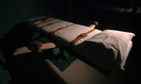 US lethal injection room
