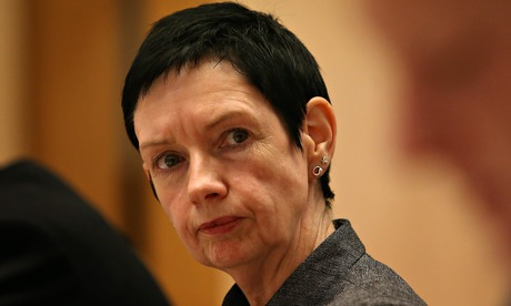 Carol Mills appearing at a Senate Estimates into Finance and Public Administration