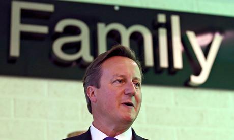 Britain's Prime Minister David Cameron speaks during a visit to Edinburgh