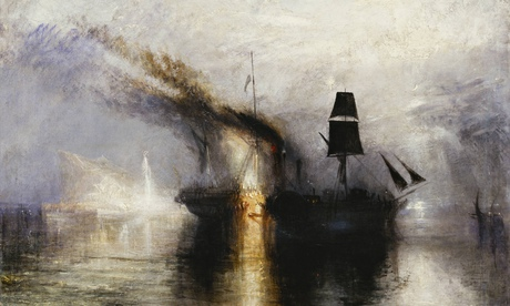 Detail of Peace - Burial at Sea, 1842