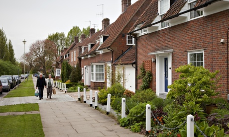 Welwyn Garden City, Hertfordshire: dispute over manorial rights. Photograph: Graham Turner for the G
