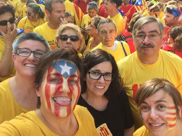 'Family! Freedom Catalonia.'
