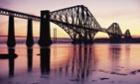 Forth rail Bridge, Scotland.