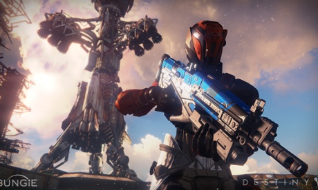 screen shot from the game Destiny