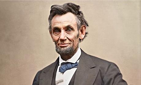 Abraham Lincoln circa 1863. Photograph: Library Of Congress/Sanna Dullaway