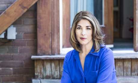 Naomi Klein at her home in Toronto.