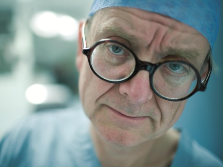 'Healthcare in Ukraine has improved since I first went there'… Henry Marsh. Photograph: PR