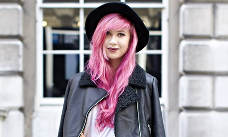 Amy Valentine pink hair