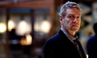 Kenneth Branagh as Kurt Wallander. BBC adaptation of An Event In Autumn. Left Bank Pictures