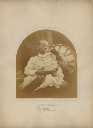 Prince Alamayou. Isle of Wight,1868.