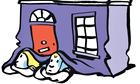 Nishant Choksi illustration for Sophie Heawood column on houses