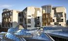Scottish parliament, exterior