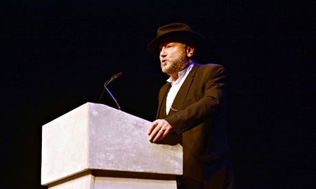 George Galloway receives alleged death threat at Houses of Parliament...