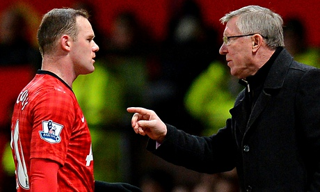 Manchester Uniteds Wayne Rooney ends feud with Sir Alex Ferguson