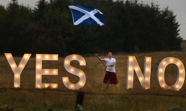 Scottish independence referendum: Last day of campaigning before vote that could end UK - live...