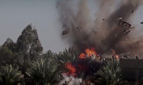A estática do vídeo estado islâmico