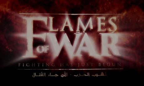 A ainda do mais recente vídeo Estado Islâmico