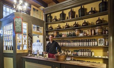 Wynand Fockink is a bar and distillery much-loved by Amsterdam