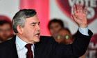 Gordon Brown at Better Together rally in Glasgow
