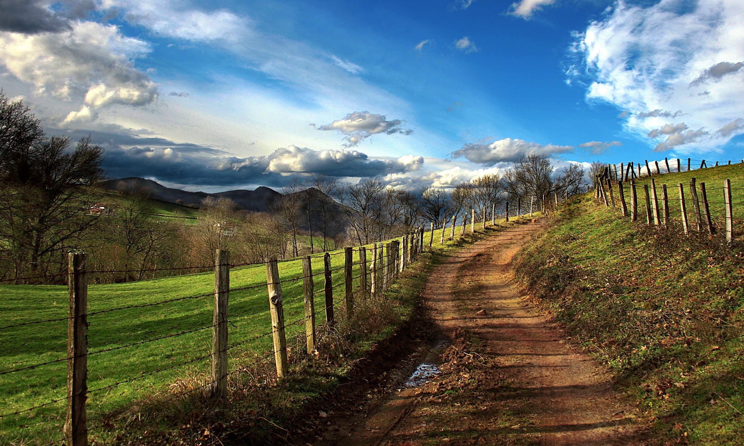 Valley Spain Valley in Navarre Spain