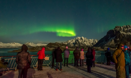 Lighting up the sky: a view of the Northern Lights.