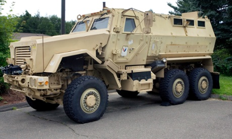 MRAP armored vehicle