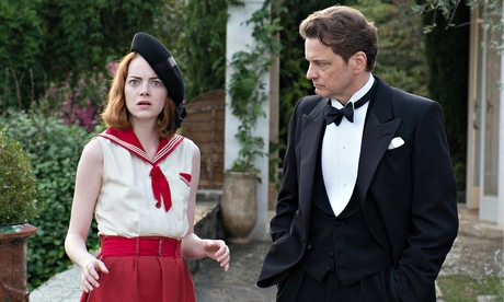 Emma Stone and Colin Firth in Magic in the Moonlight