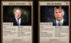 Mayors: Boris Johnson and Bill de Blasio