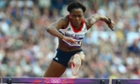 Tiffany Porter racing in the Olympic Games 2012