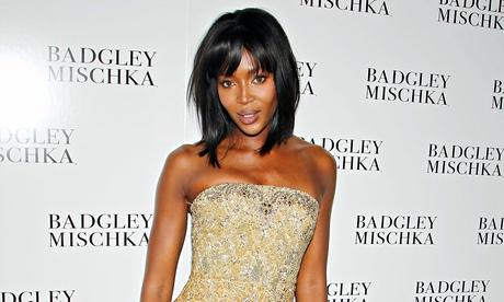 Naomi Campbell at New York fashion week