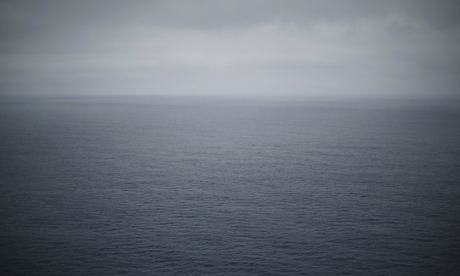 The southern Indian Ocean pictured at 500 feet above sea level